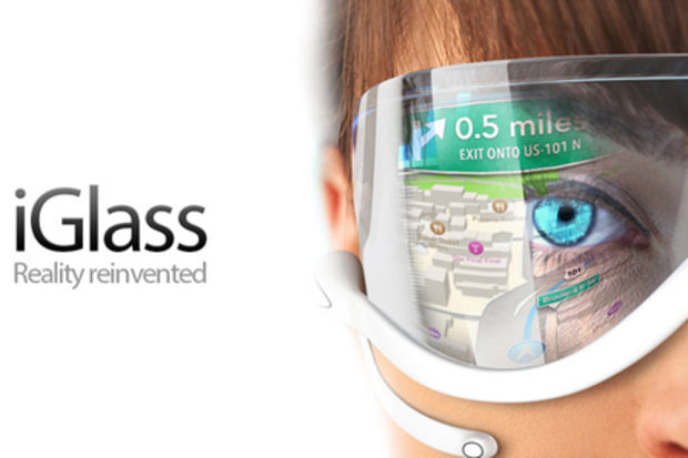 Apple'dan iPad'e dönüşen teknolojik gözlük: iGlass!