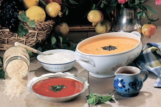 Köfteli hamurlu çorba