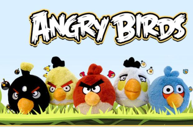 Angry Birds oynamak için artık telefon ya da bilgisayara ihtiyacınız yok!