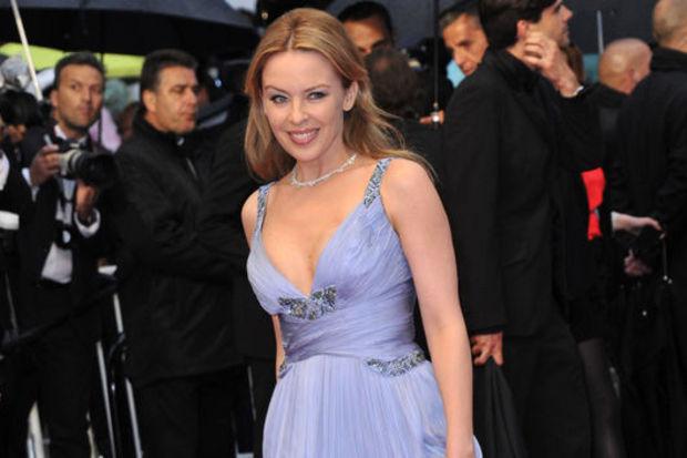 Kylie Minogue sanat filminde oynadı!