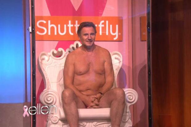 Tv'de donla duş yaptı!