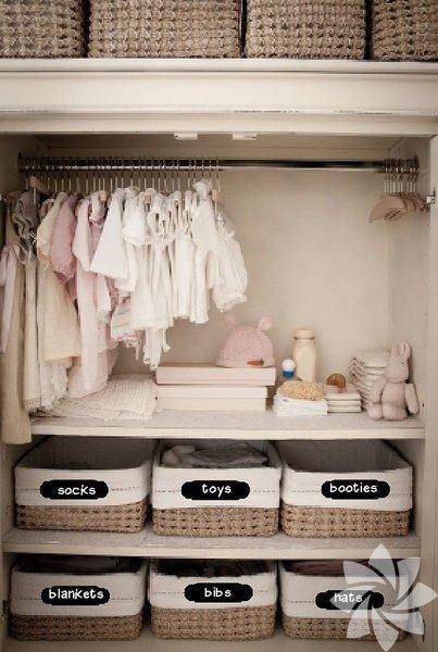 Şık ve yaratıcı bebek odası tasarımları...
