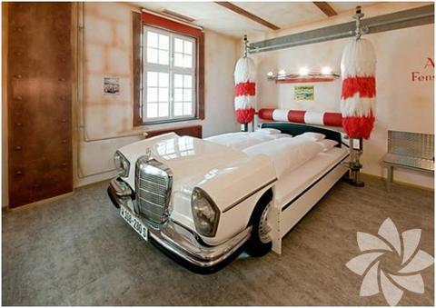 Sıradışı yatak odası tasarımları...