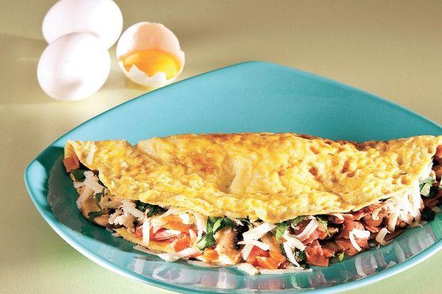 Şişko omlet...
