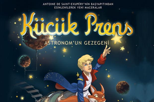 Küçük prens astronom'un gezegeni...