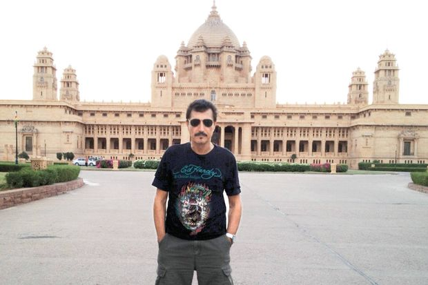 Mumbai Sarayı'nda darbuka sesleri!