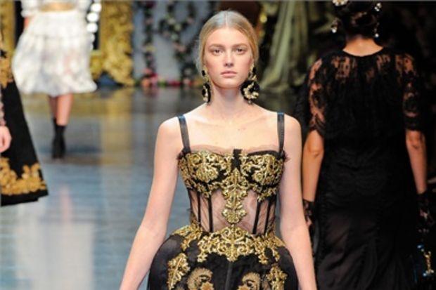 Dolce & Gabbana 2012 - 2013 Sonbahar / Kış koleksiyonu...