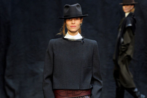 Hermès 2012 Kış defilesi...