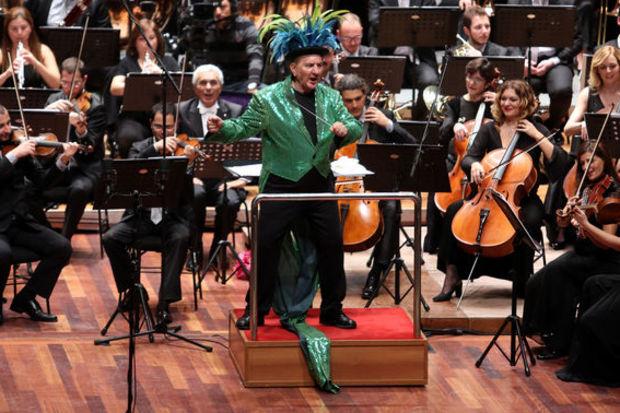 Filarmoni Orkestrası izleyenleri büyüledi!