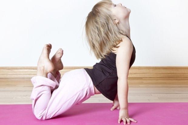 Çocuk yogası!