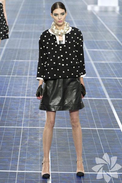 Chanel 2013 İlkbahar Koleksiyonundan kareler...