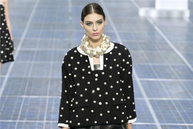 Chanel 2013 İlkbahar koleksiyonu...