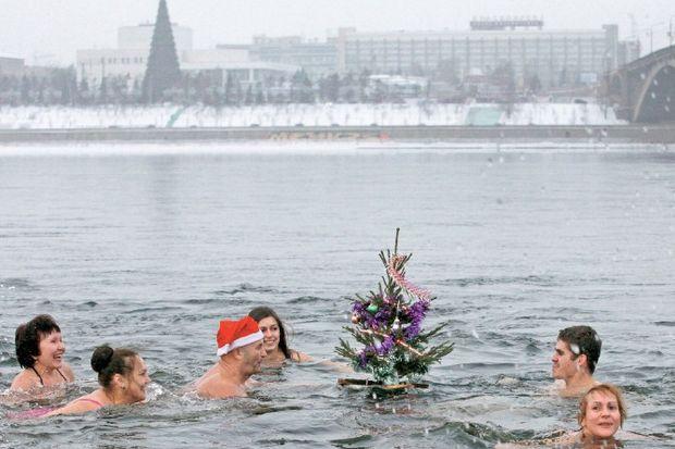 Buz gibi kutlama!