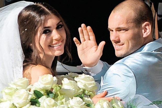 """Wesley Sneijder: """"Yolanthe ile takım kurmak isterim!"""""""