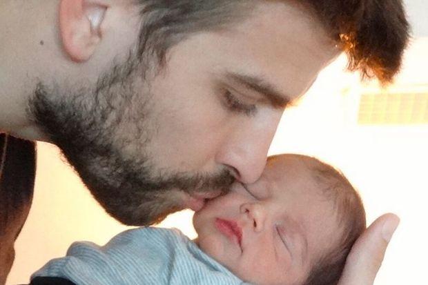 İşte Shakira'nın bebeği Milan!