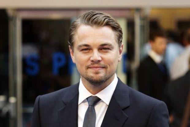 Leonardo sarışın sever!