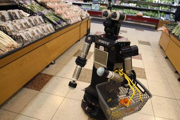 Robot da okullu oldu!