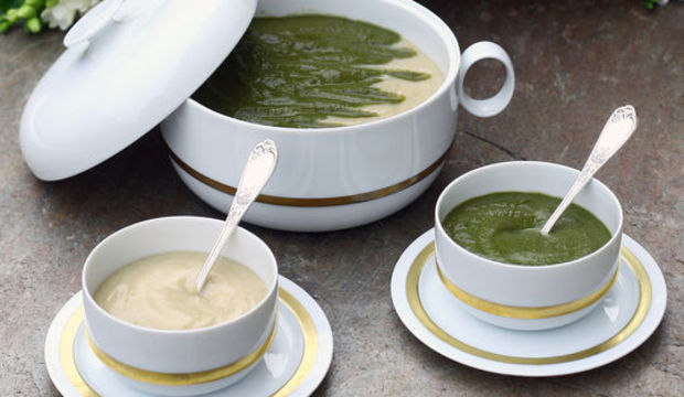 İki renkli çorba