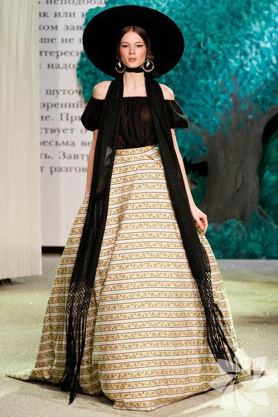 Ulyana Sergeenko 2013 Haute Couture İlkbahar Yaz Koleksiyonu...