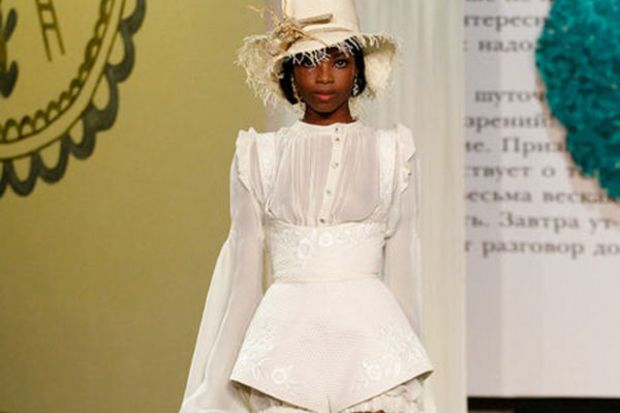 Ulyana Sergeenko 2013 Haute Couture İlkbahar Yaz