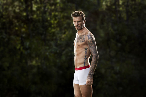 """David Beckham: """"Büyükbaba tişörtlerini seviyorum!"""""""