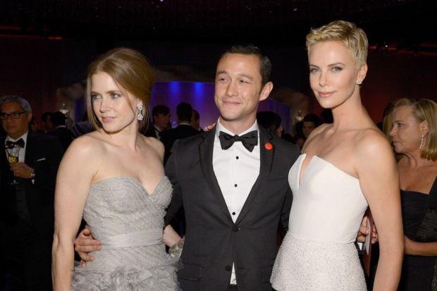 Yıldızlar Oscar Töreni sonrası partide...