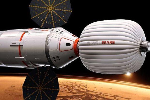 Mars'a gidecek çift aranıyor!