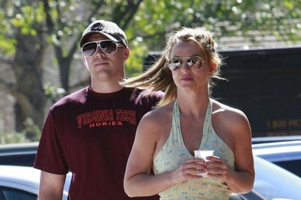 Britney'in keyfi yerinde!