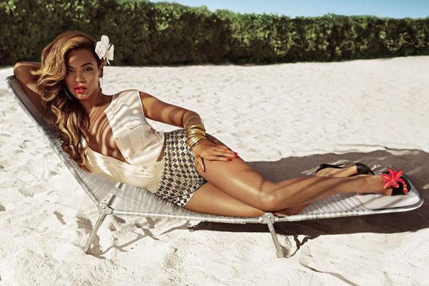 Milyon dolarlık Beyonce pozu!