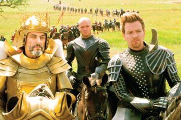 Sakar şövalye devlere karşı...