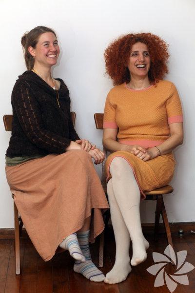 Julia Steils Paçacıoğlu ve Nur Sakallı