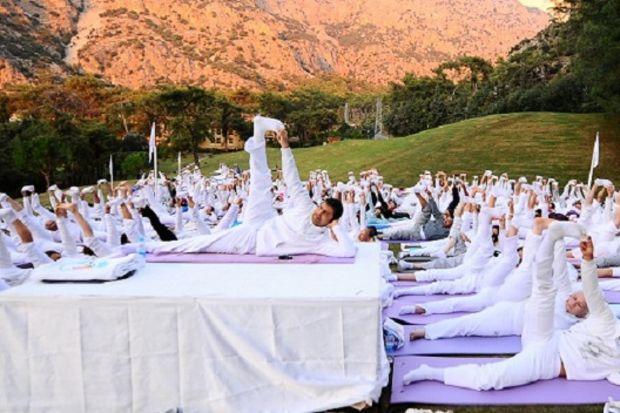 Gerçek bahar detoksu için yoga festivali…