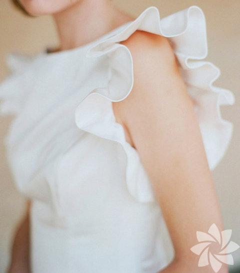 Beyaz bluzlar...
