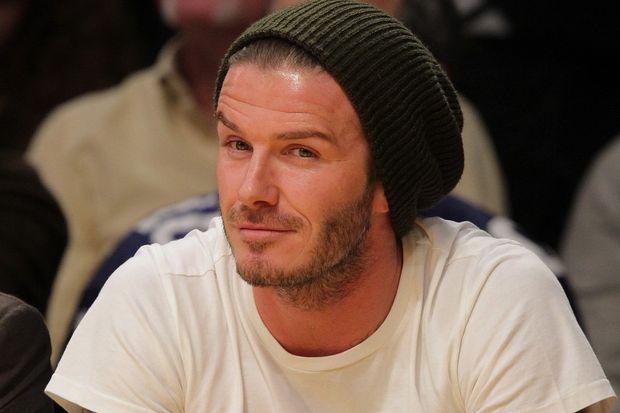 Yakışıklı ve karizmatik futbolcu: David Beckham