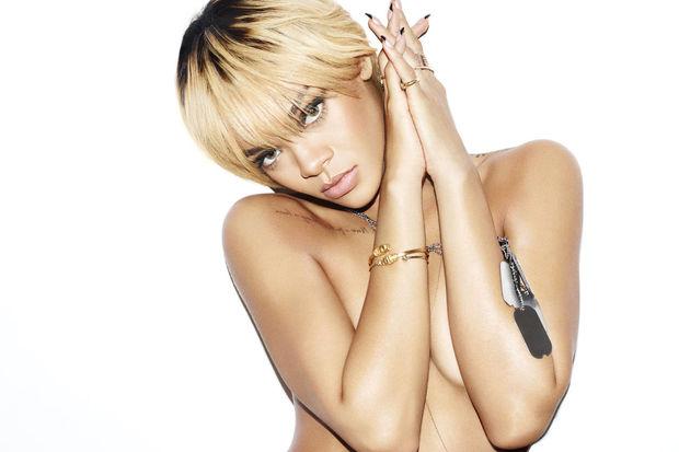 Kışkırtıcı tarzıyla Rihanna!