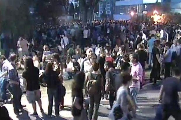Gezi Parkı'nda eylem devam ediyor...
