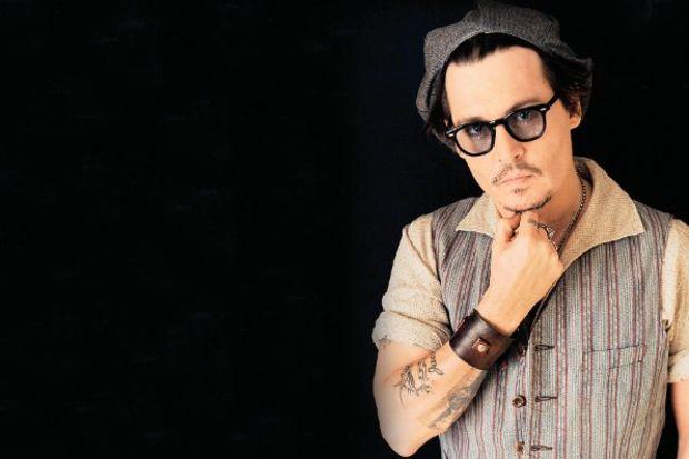 Johnny Depp cimri çıktı!