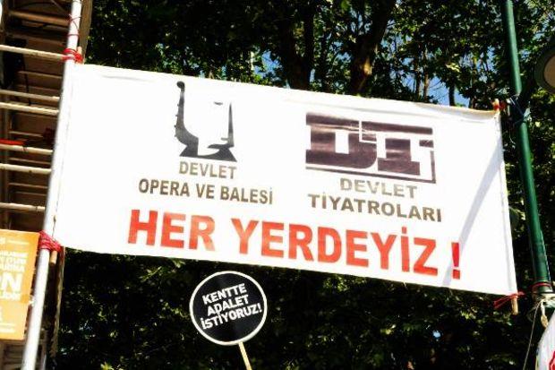 Sanatçılardan Gezi Parkı desteği