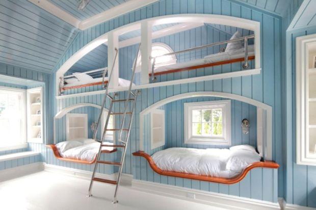 Yatak odanız için ilginç ranza modelleri