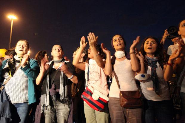 Anneler Gezi Parkı'na gitti, sosyal medyayı salladı!