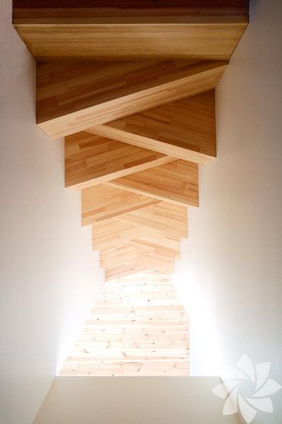 İlginç merdiven tasarımları