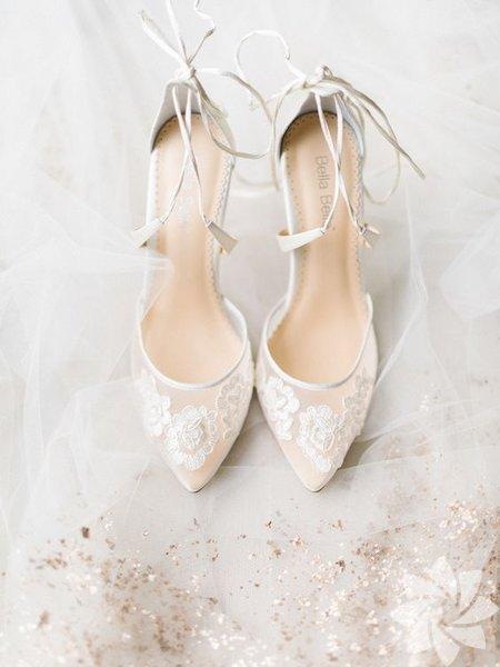 Tasarım gelin ayakkabıları