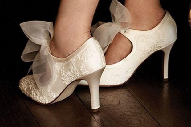 Tasarım gelin ayakkabıları...