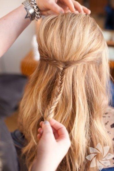 Örgü saçlar konusunda internette bulacağını resimlerden fikir alabilirsiniz.