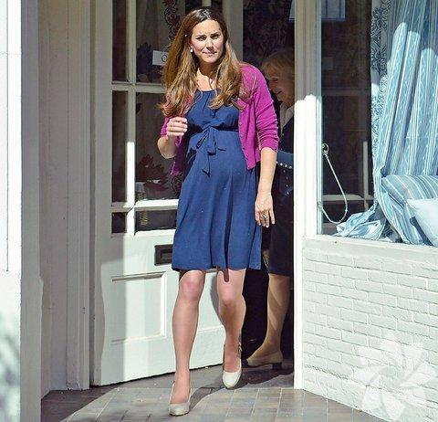 Kate Middleton ve hamilelik stili...