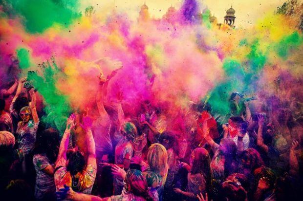 Renklerin bayramı…