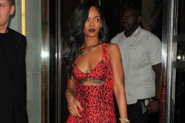 Leopar Rihanna!