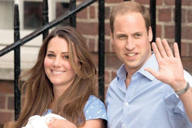 Kraliyet bebeği taburcu oldu...
