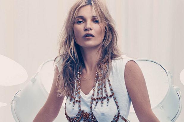 Seksi model Kate Moss...