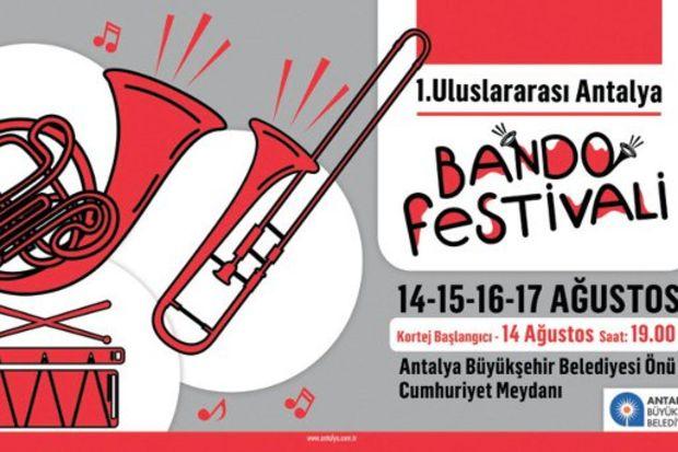 Türkiye'nin ilk bando festivali!